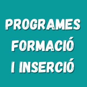Programes de formació i inserció