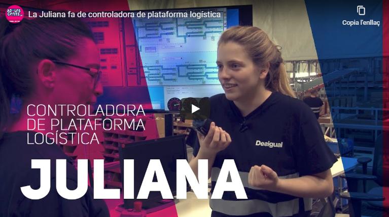 La Juliana fa de controladora de plataforma logística
