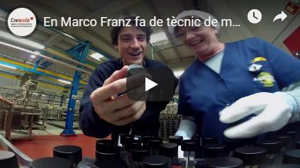 En Marco Franz fa de tècnic de muntatge #ChallengeIndústria