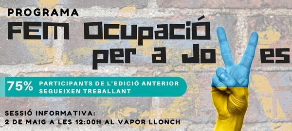 Fem Ocupació per a Joves: sessió informativa